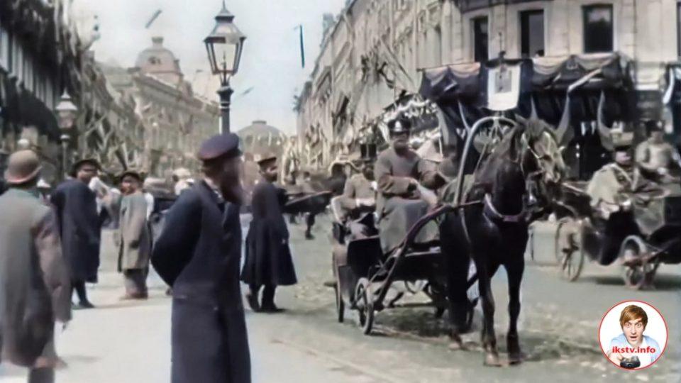 Кинохронику Российской империи показали в цвете и 4K