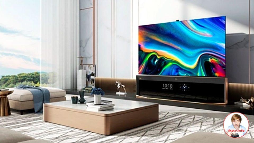Hisense выпустил премиум-телевизор с двумя экранами