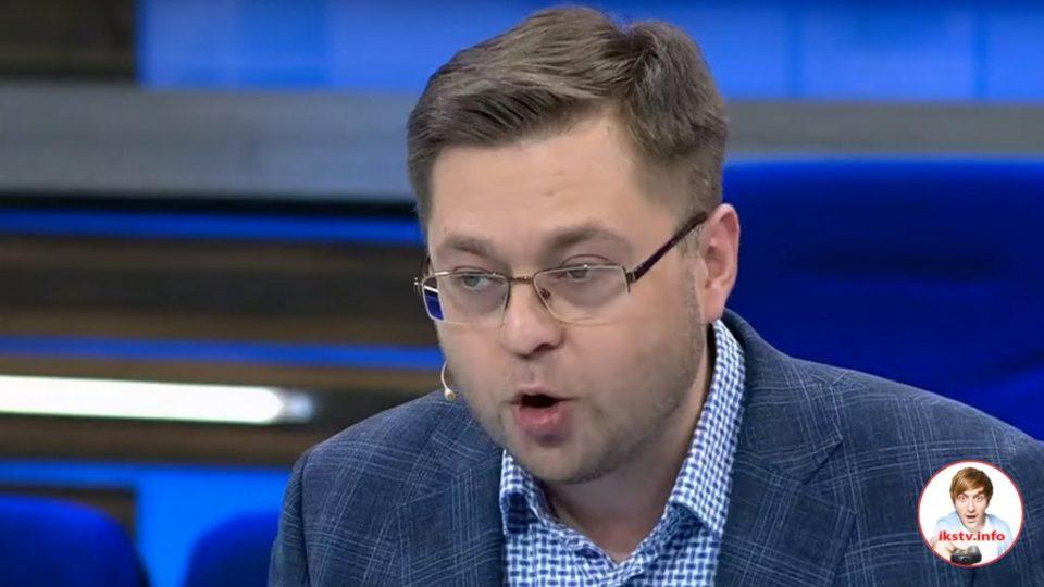 """Либеральный политолог на ТВ призвал дать ему финансирование из """"корыта"""""""