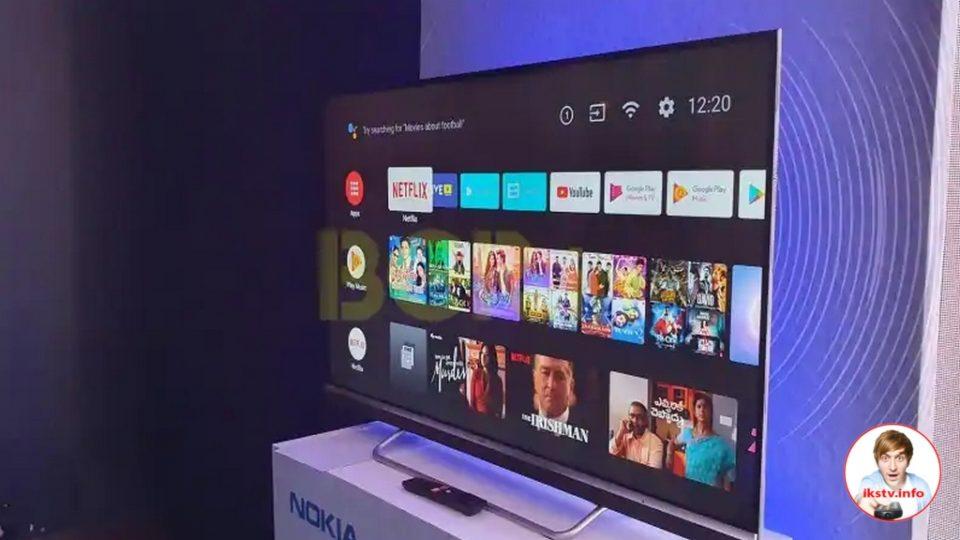 Nokia разрабатывает модель Смарт ТВ с диагональю экрана 43 дюйма