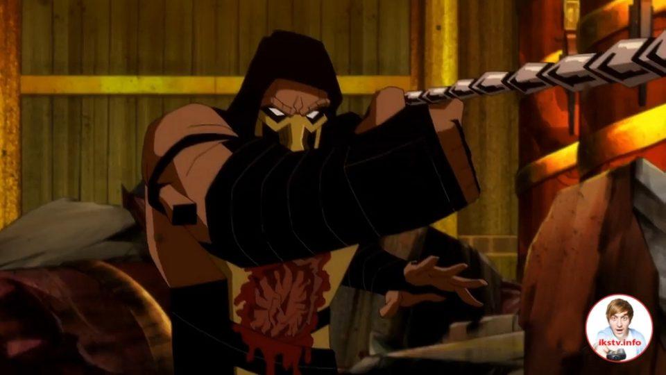 Новый трейлер мультфильма Mortal Kombat Legends. Scorpion's Revenge демонстрирует жестокие сцены