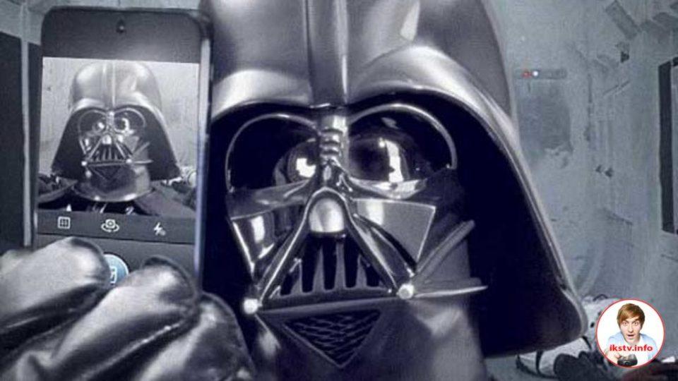"""Держать iPhone в """"Звёздных войнах"""" должны только добряки"""