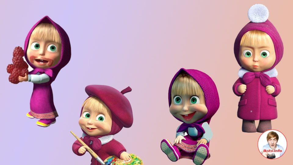 Машу из мультсериала озвучивали уже четыре девочки