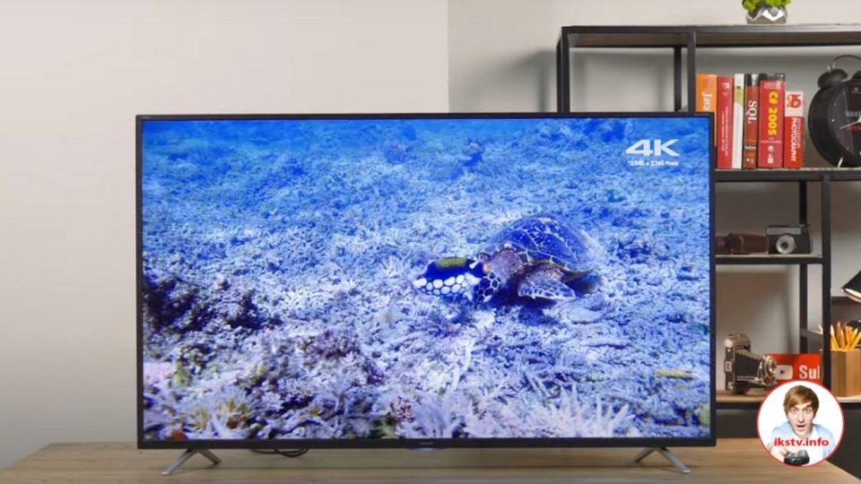 Телевизором Sharp 55BL5EA можно управлять с помощью джойстика