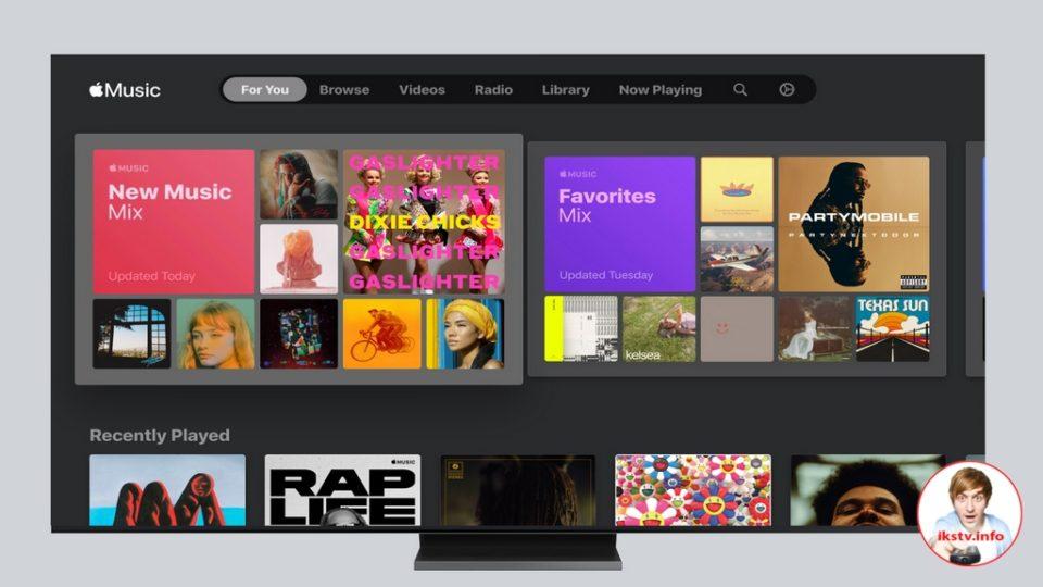 Владельцы телевизоров Samsung смогут пользоваться музыкой от Apple