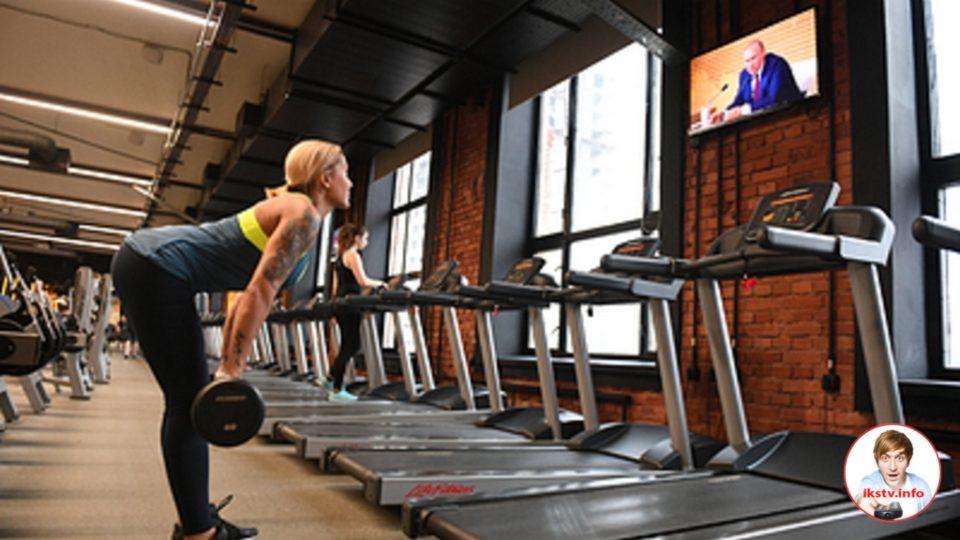 На IVI можно увидеть физические упражнения в режиме онлайн