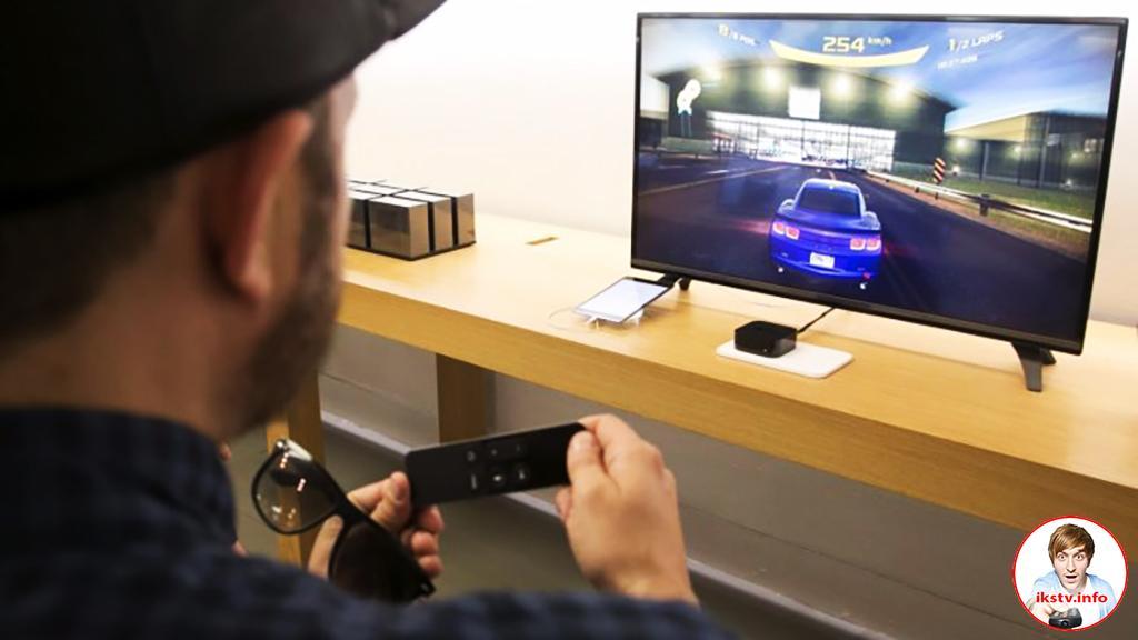 Apple хочет добавить к ТВ-приставке игровой функционал
