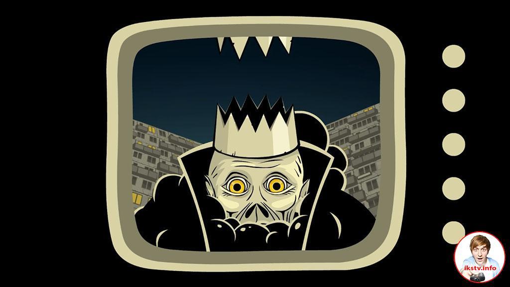 Шевчук изобразил себя мёртвым на экране телевизора
