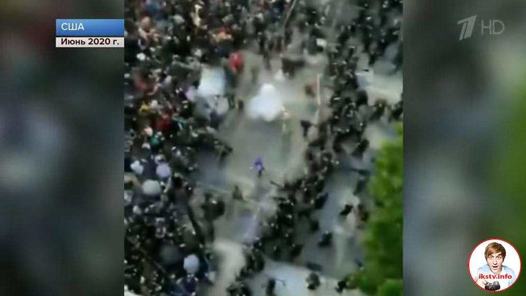 """На Первом канале титры """"Брата 2"""" заменили кадрами протестной акции"""