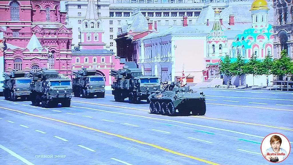 Военный парад в честь Победы над фашизмом показывают 7 российских каналов