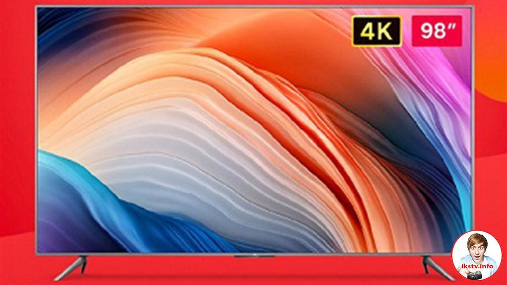 Партию телевизоров Redmi Max 98 раскупили за 3 минуты