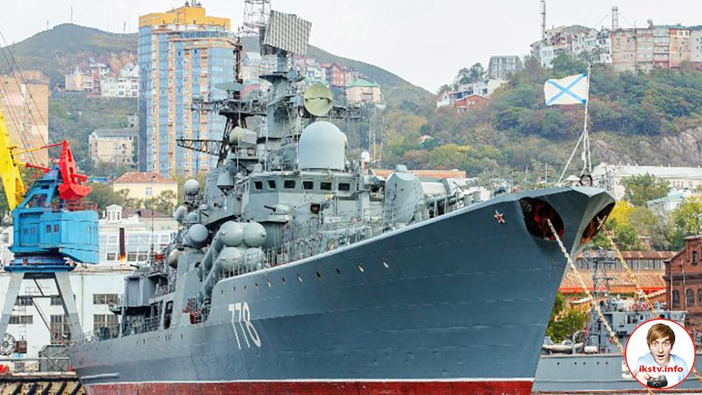 На российских кораблях установят спутниковое ТВ