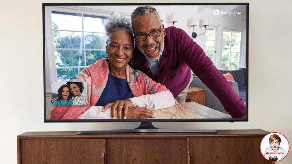 Google встроит видеочаты в Смарт ТВ