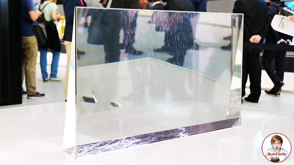Непонятно зачем, неизвестно накой: в Xiaomi выпустили прозрачный телевизор