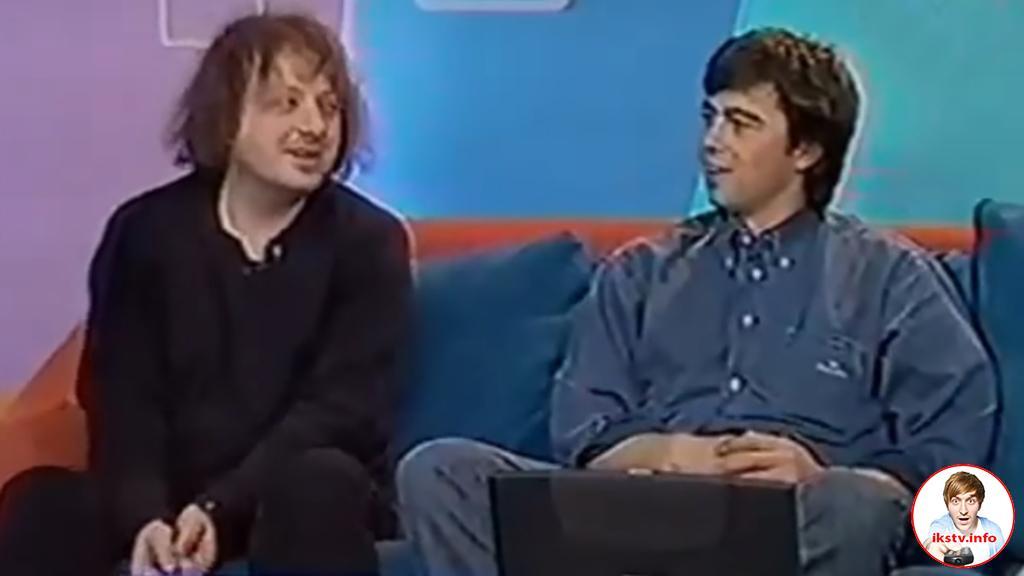 Глеб Самойлов и Сергей Бодров на MTV