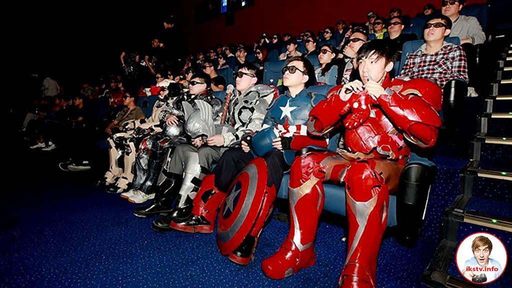 Китай впервые обогнал США на рынке кинопроизводства