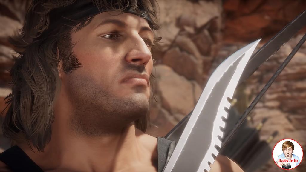 Сталлоне озвучил Рэмбо в Mortal Kombat