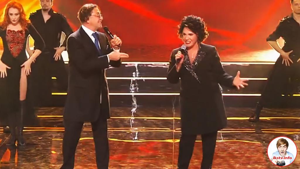 Бабкина спела песню Лепса на ТВ мужским голосом