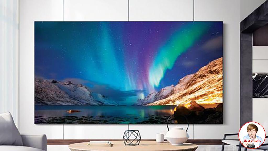 Samsung выпустит телевизор с Mini LED