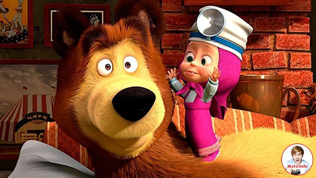 Маша и Медведь участвуют в Global TV Demand Awards