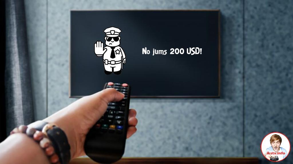 Латвийцев будут штрафовать за просмотр российских каналов