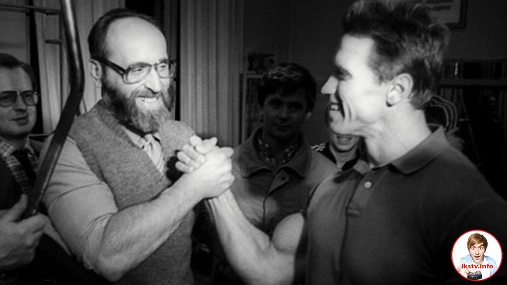 Шварценеггер назвал советского атлета своим учителем