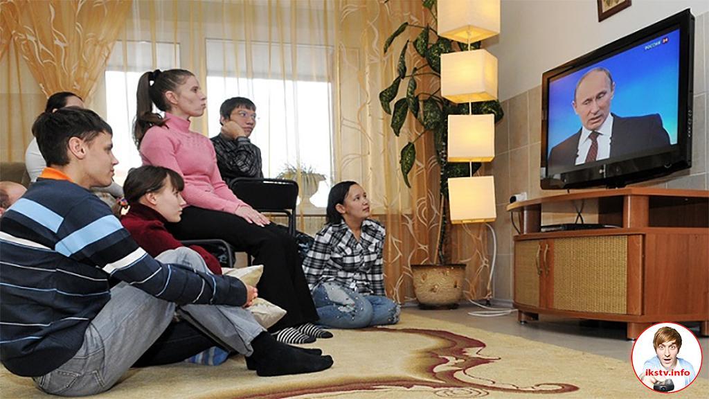 В семьях россиян имеется по два телевизора