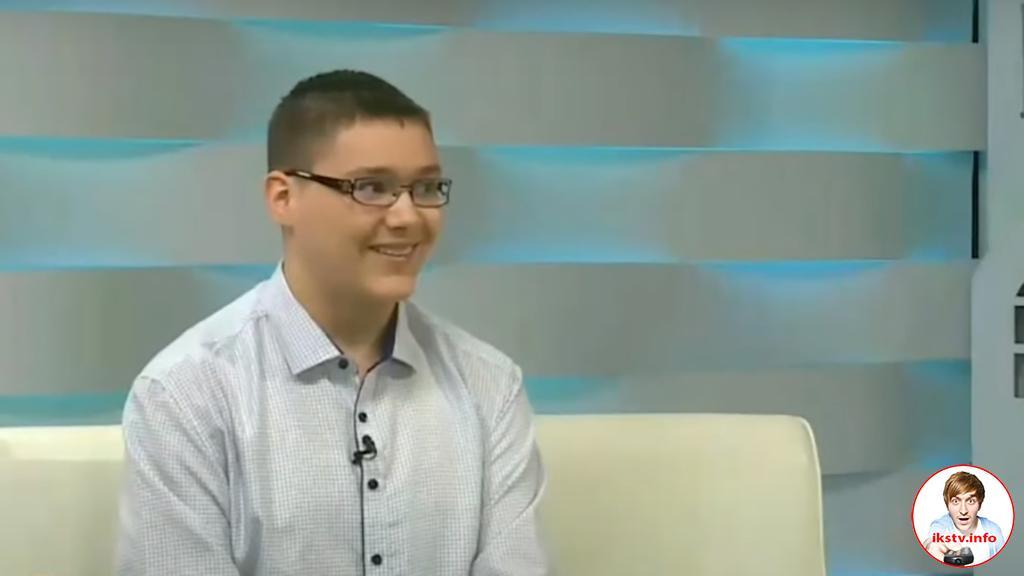 На ТВ рассказали историю о талантливом белорусском школьнике