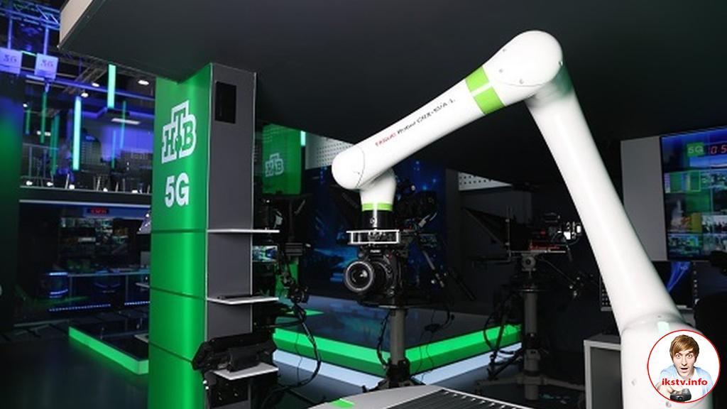 НТВ показал возможности работы 5G в прямом эфире