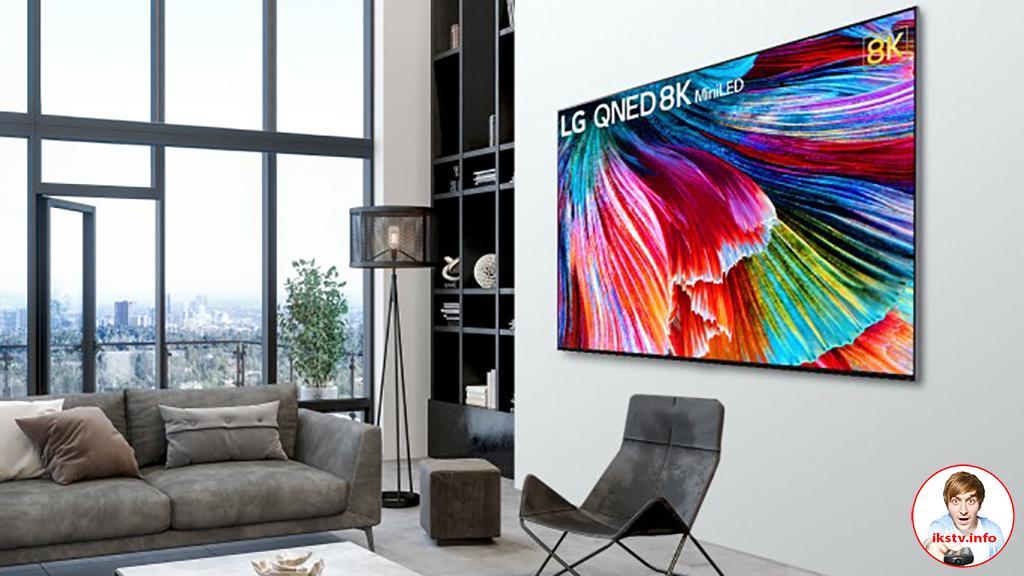 В LG запустили линейку телевизоров QNED Mini LED